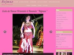 danse orientale Nejmas Nouméa
