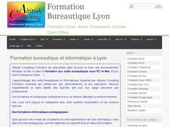 Altitude consulting formation Lyon